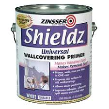 Zinsser Shieldz Universal wallcovering primer for wallpaper