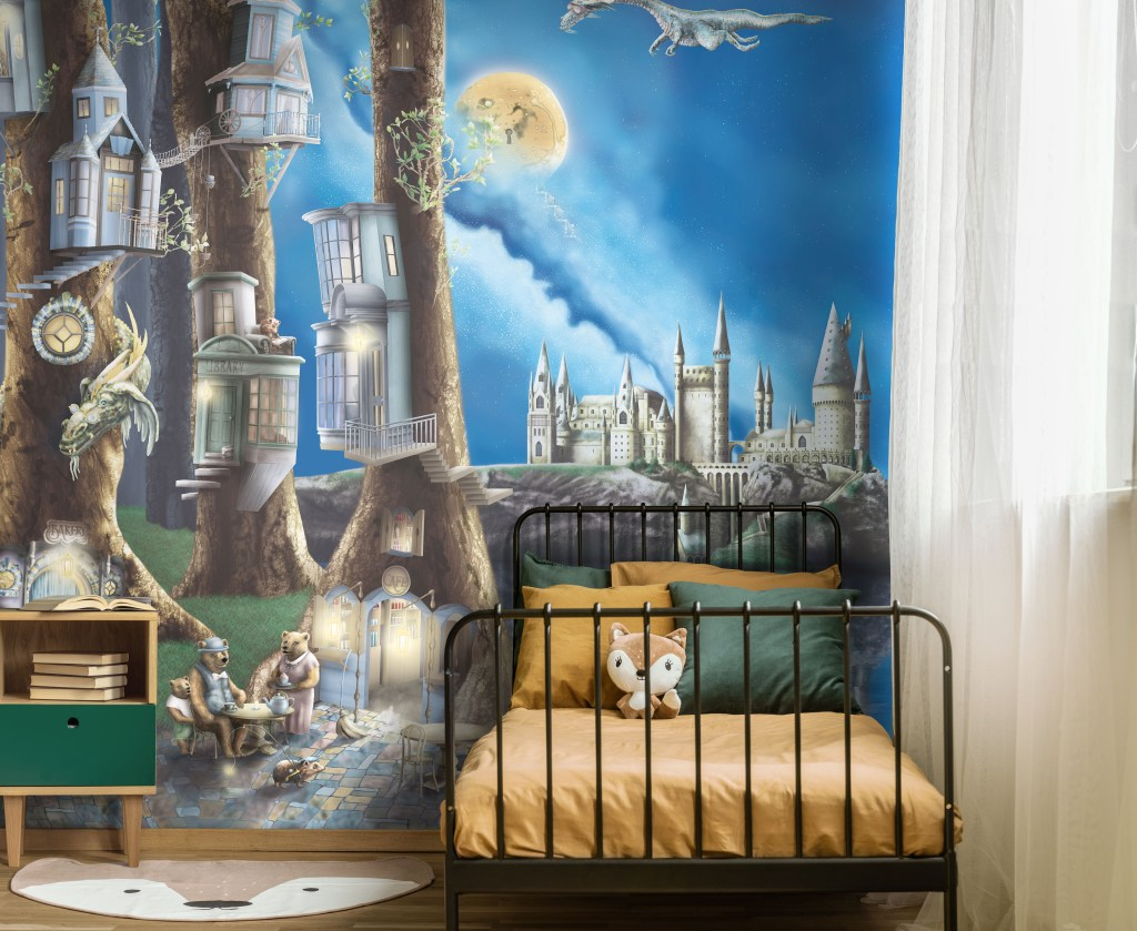 Boys Woodland Forest Nursery Bedroom Wallpaper ideas and themes from Sydney Australia