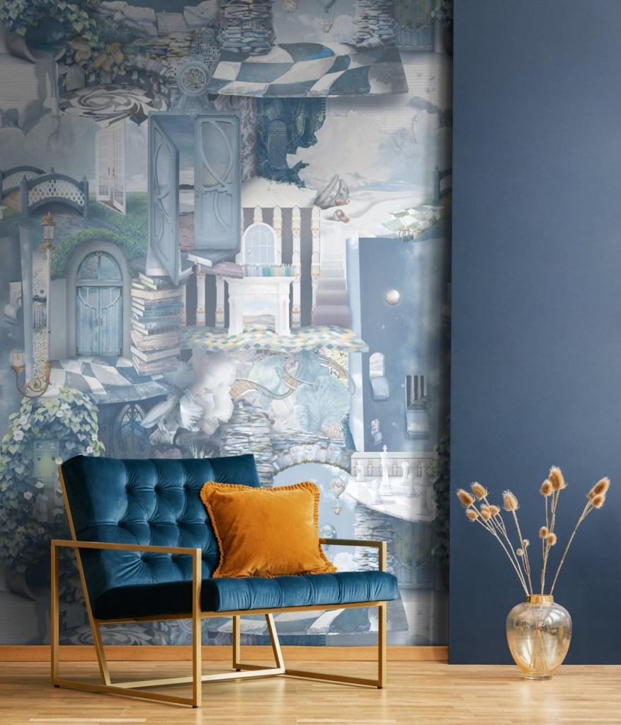 commercial wallpaper artist designer premium bespoke custom murals heavy duty vinyl
